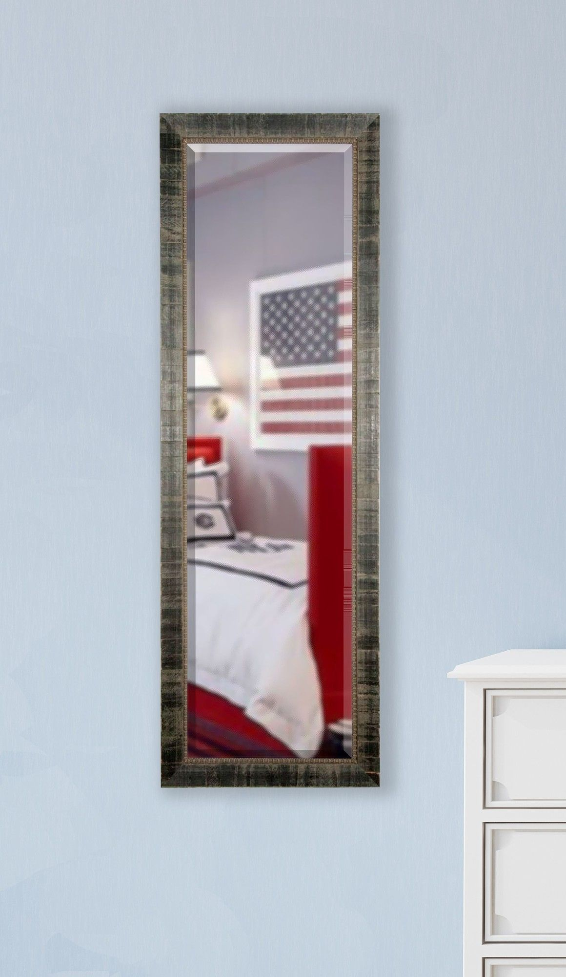 Jovie Jane Tuscan Ebony Full Length Beveled Body Mirror