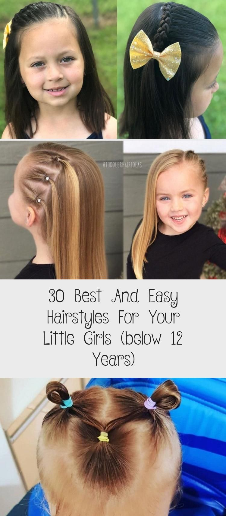 30 besten und einfachsten Frisuren für Ihre kleinen Mädchen (unter 12 Jahren) – Pinokyo
