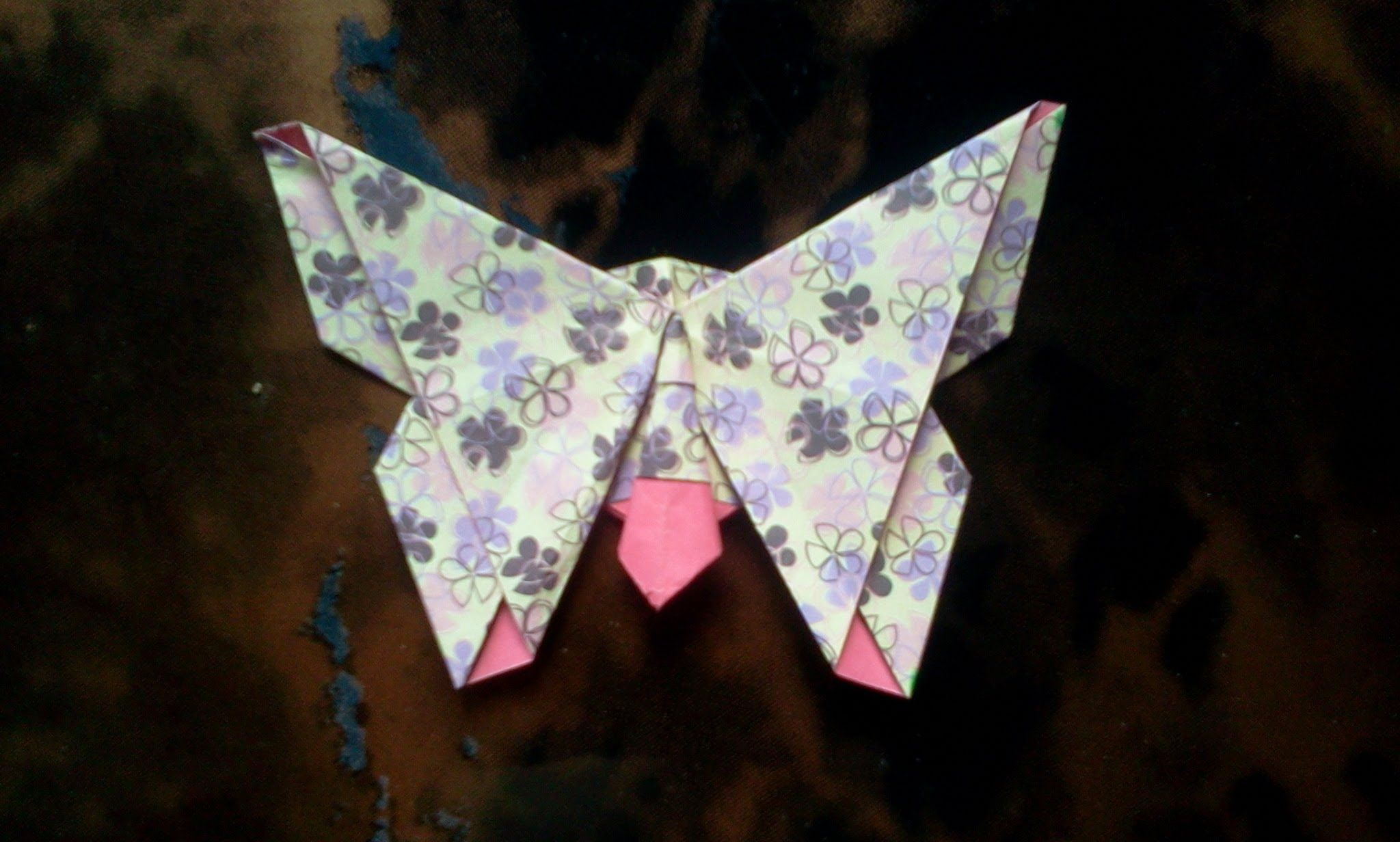 How to make Origami Butterfly | Origami állatok ... - photo#42