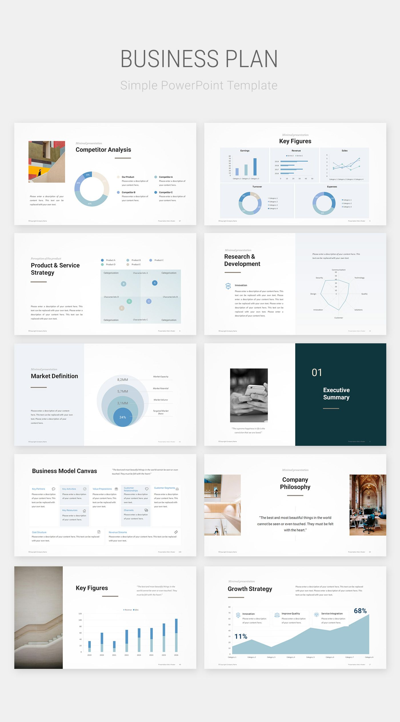 Business Plan PowerPoint Template Download PowerPoint