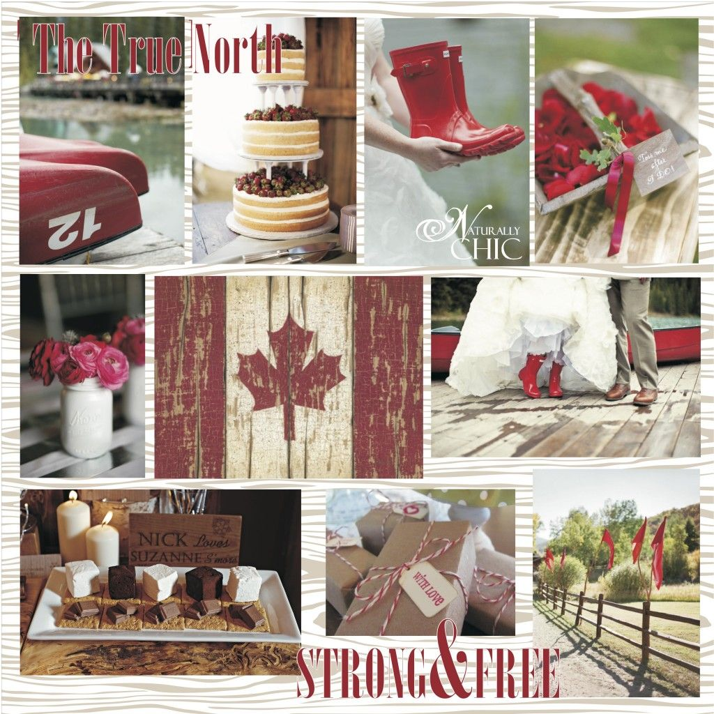 Canada Day Wedding Inspiration Okay This Ois More For Me