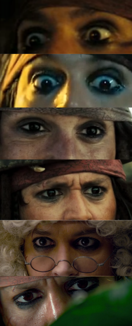 Crazy Eye Make Up: Why Is The Rum Always Gone: Pirates