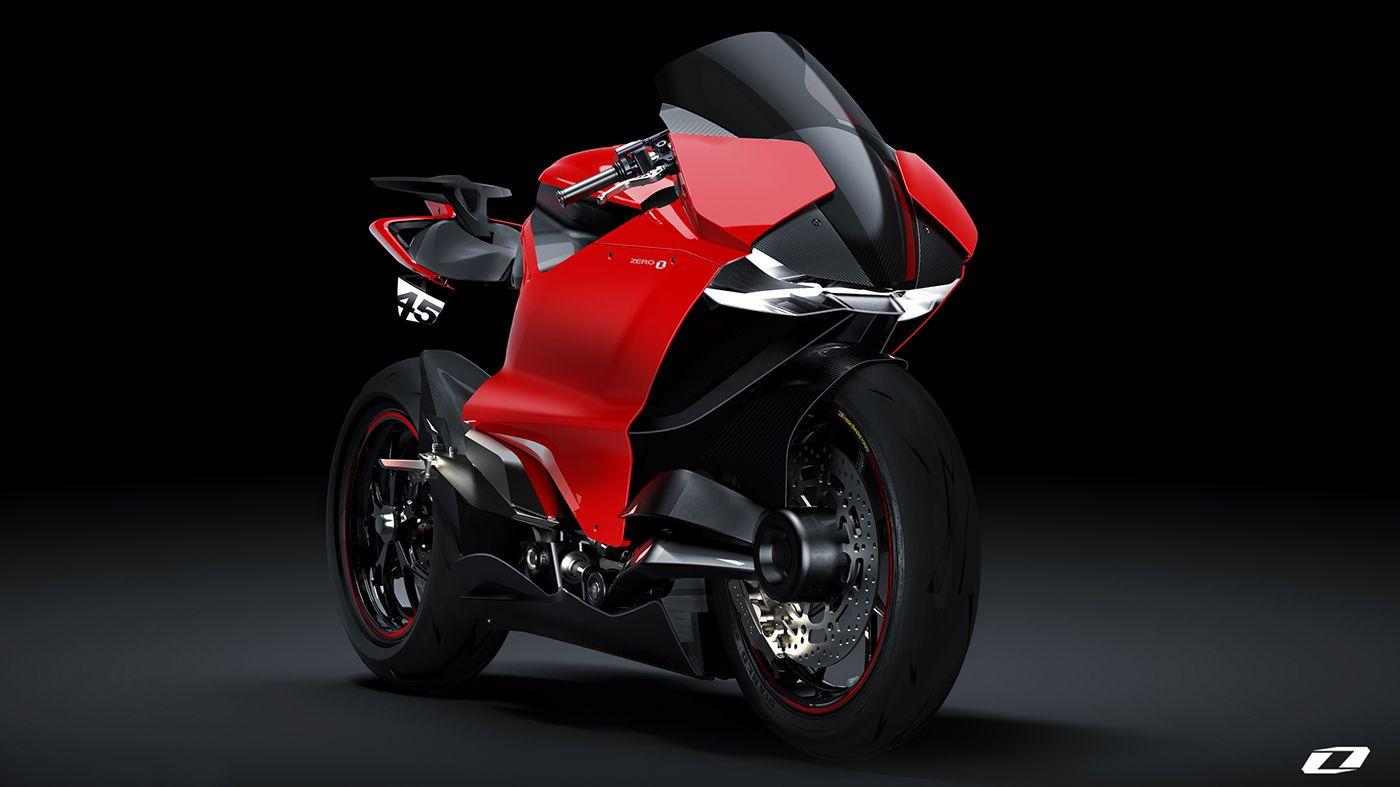 Ducati Zero Electric Superbike 2020 By Suraj Tiwari Ducati