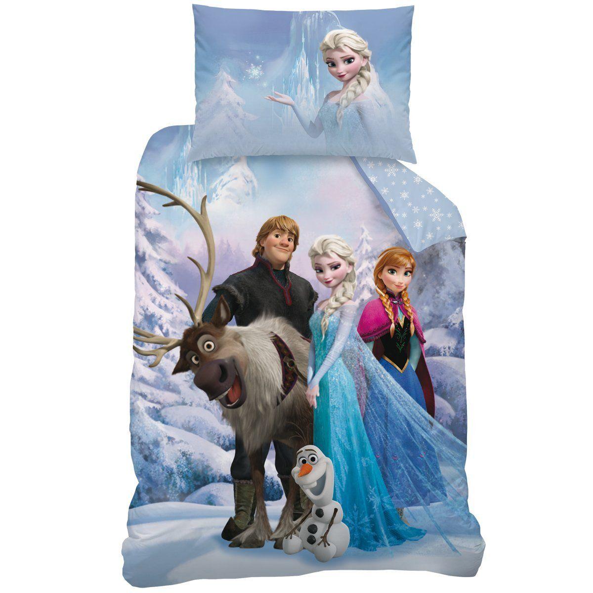 Frozen Kinderzimmer Frozen Bettwäsche für Fans der