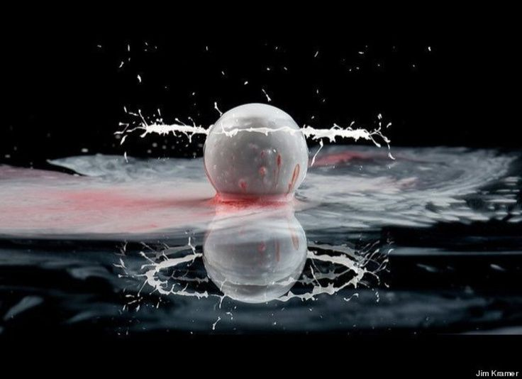 Jim Kramer High Speed Photographer Creates Amazing Images Of Water Droplets
