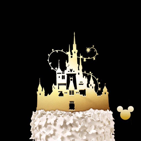 This Cinderella Castle Wedding Cake Will Command Attention At Your