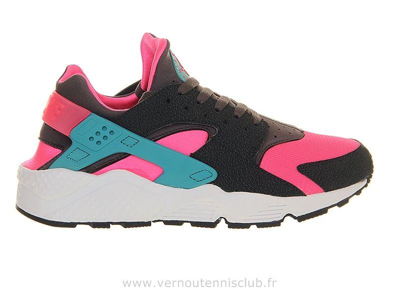 Nike Air Huarache Hyper pink , Chaussure Pour Femme Triple