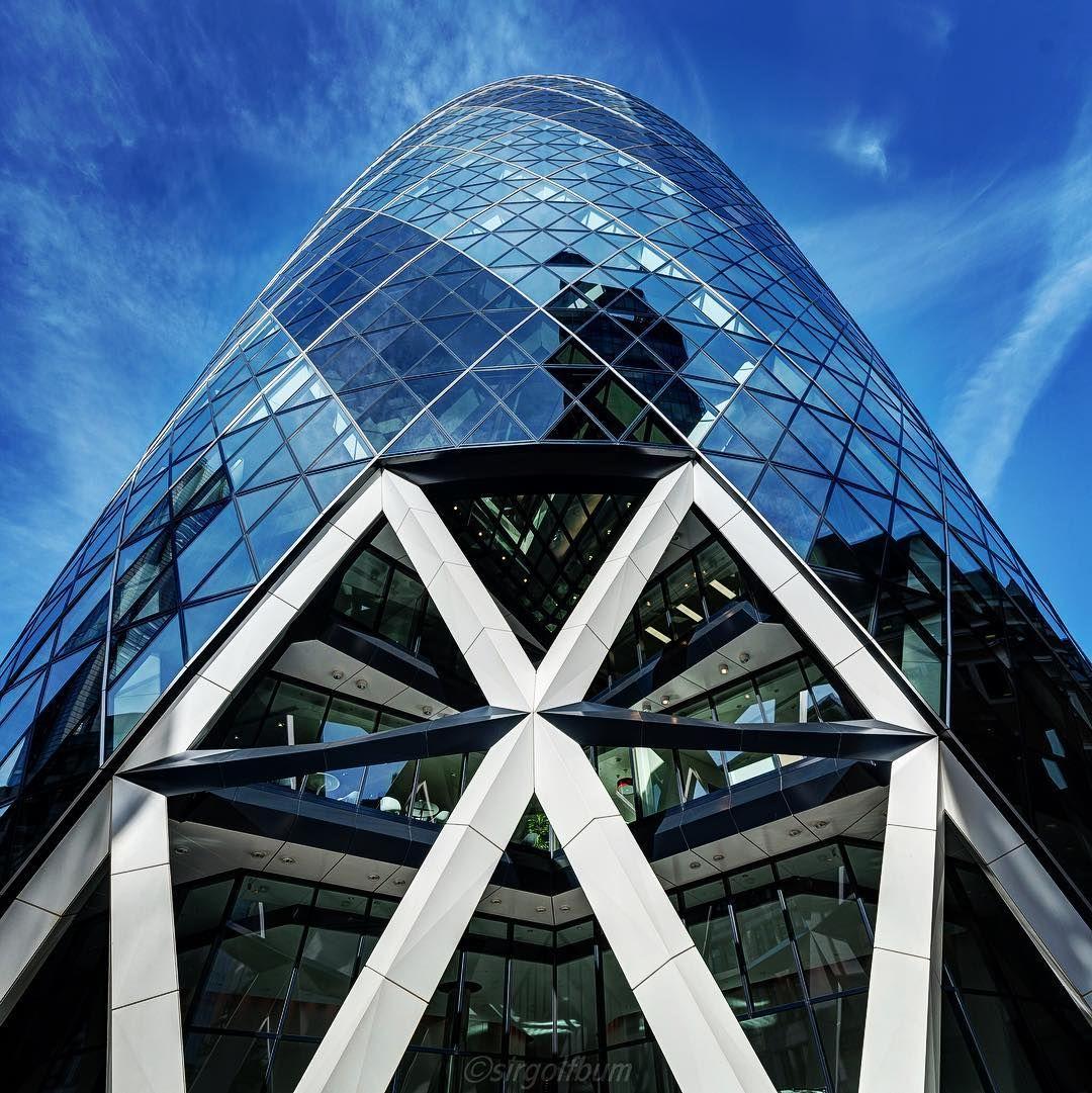 The Gherkin @ London by sirgolfbum