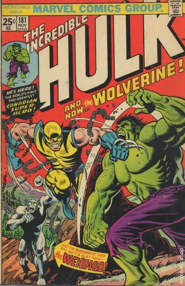 The incredible hulk 181 cover art by herb trimpe x men the incredible hulk 181 cover art by herb trimpe fandeluxe Gallery