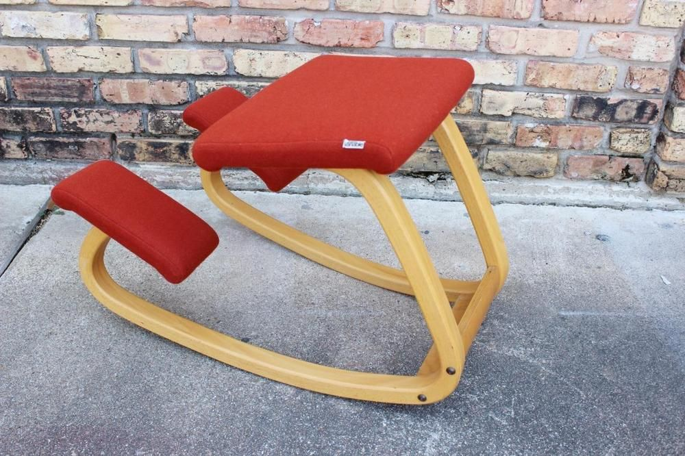 Stokke Balans Stoel : Original vintage stokke balans variable kneeling chair peter