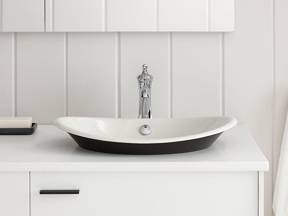 Iron Plains Wading Pool Oval Bathroom Sink K 5403 P5 Kohler