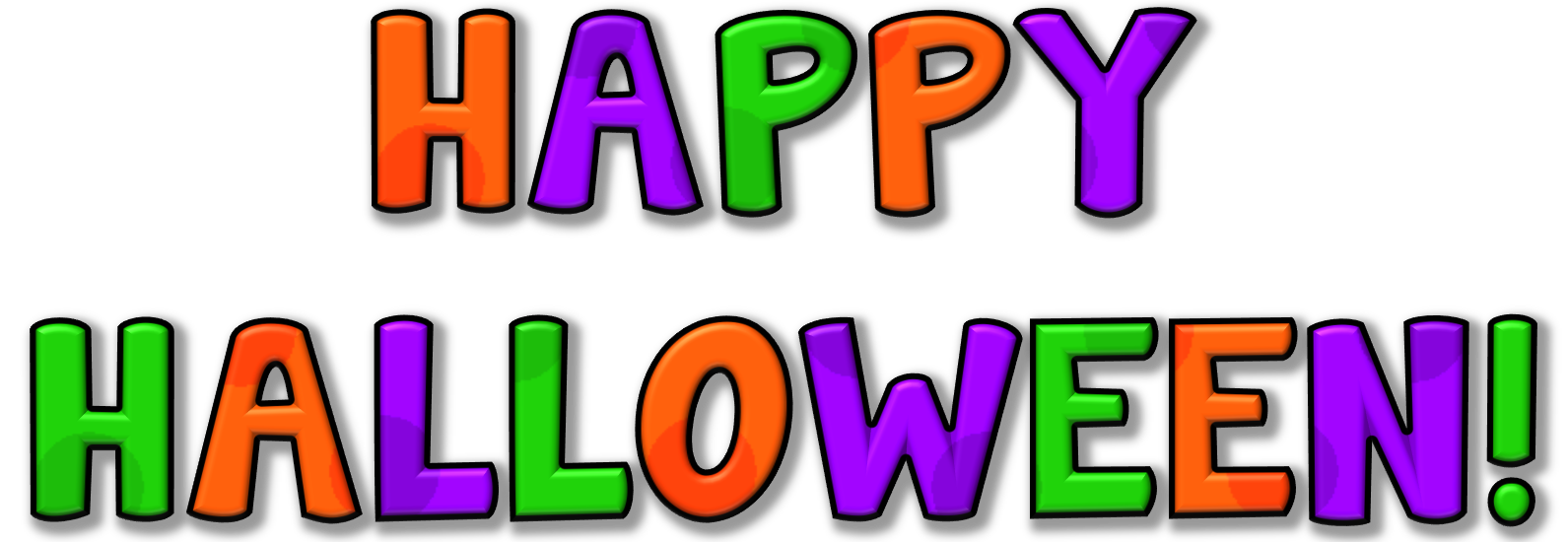 Happy Halloween Clipart Clipart Panda Free Clipart