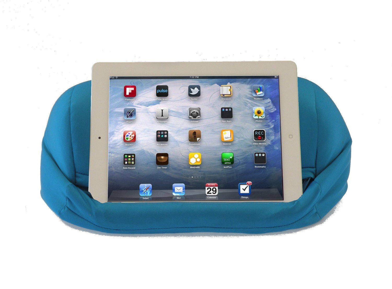 Dockem\'s iProp provides a beanbag for your iPad (and a pillow for ...