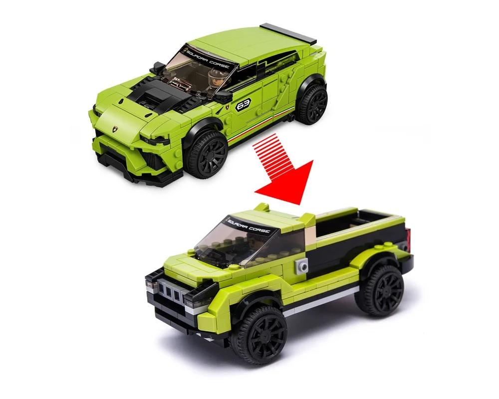 76899 Lambo Cybertruck Lambo Lego Speed Champions Lego Cars