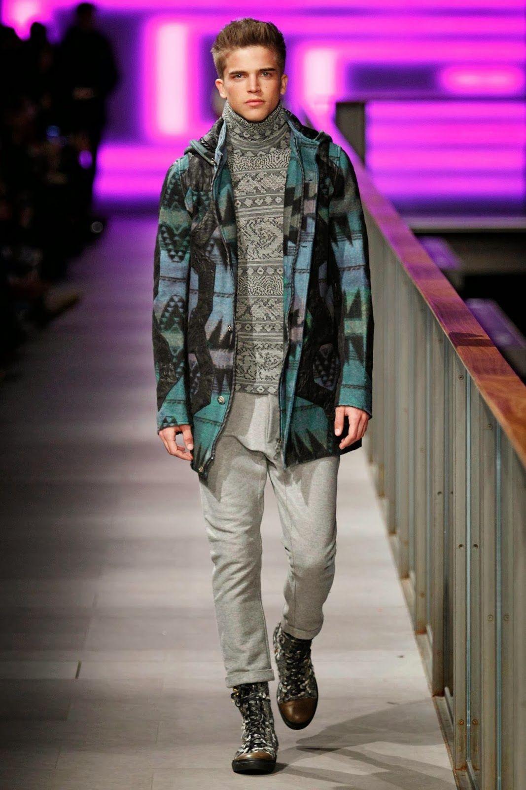 #Menswear #Trends CUSTO BARCELONA Fall Winter 2014 Otoño Invierno  #Moda Hombre #Tendencias