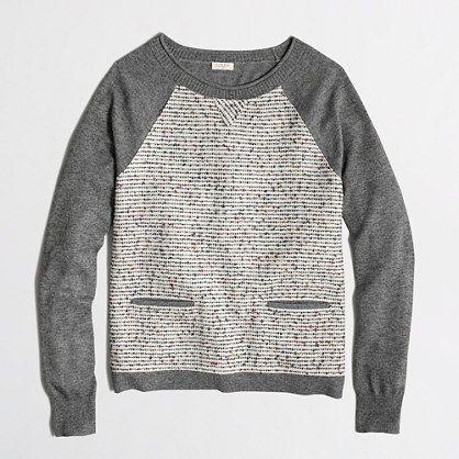 <ul><li>Merino wool.</li><li>Hits at hip.</li><li>Long sleeves.</li><li>Hand wash.</li><li>Import.</li></ul>