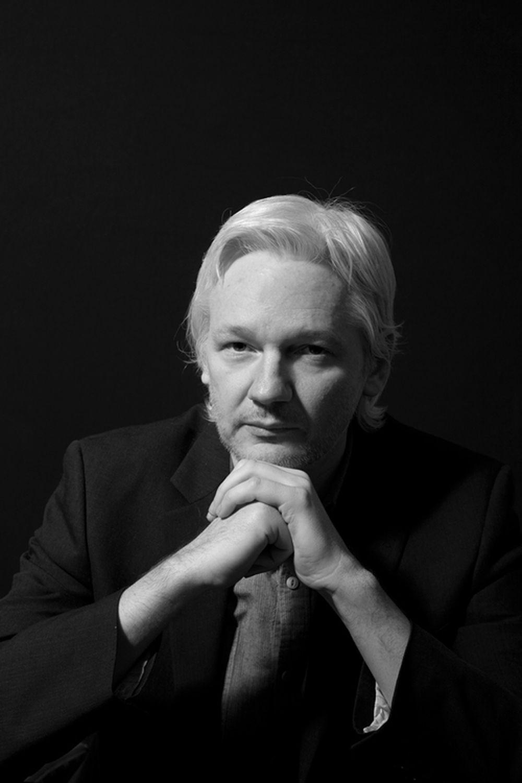Julian Assange-Portrait photography by David Woolfall | Beau Du ...