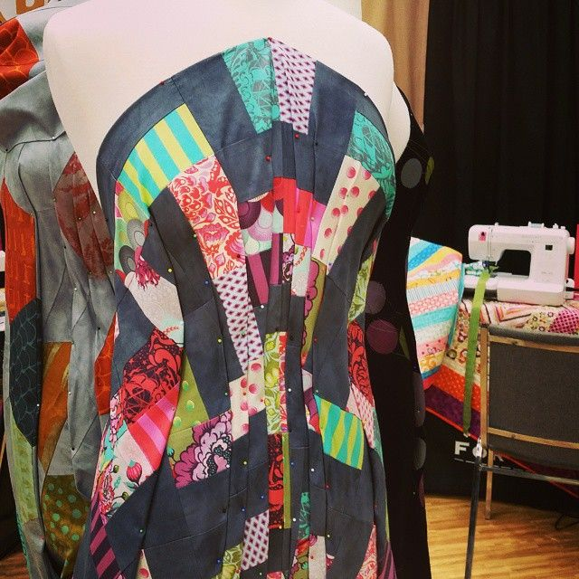 Quilt top couture at #babylock #quiltmarket