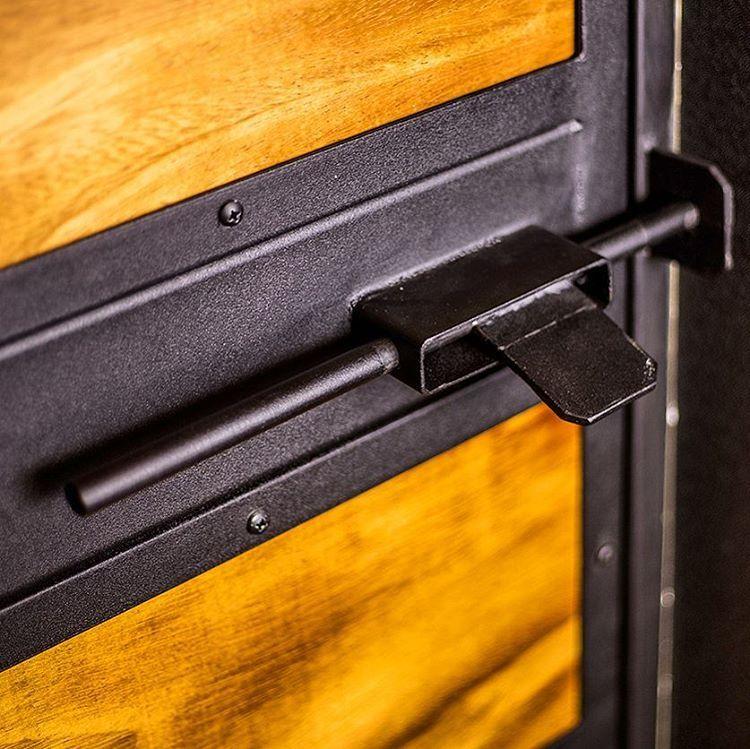 Cerradura para puerta tambi n hicimos la puerta en marcos for Decoracion de marcos de puertas
