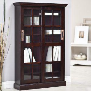 White media cabinet with sliding glass doors httppecospackers white media cabinet with sliding glass doors planetlyrics Choice Image