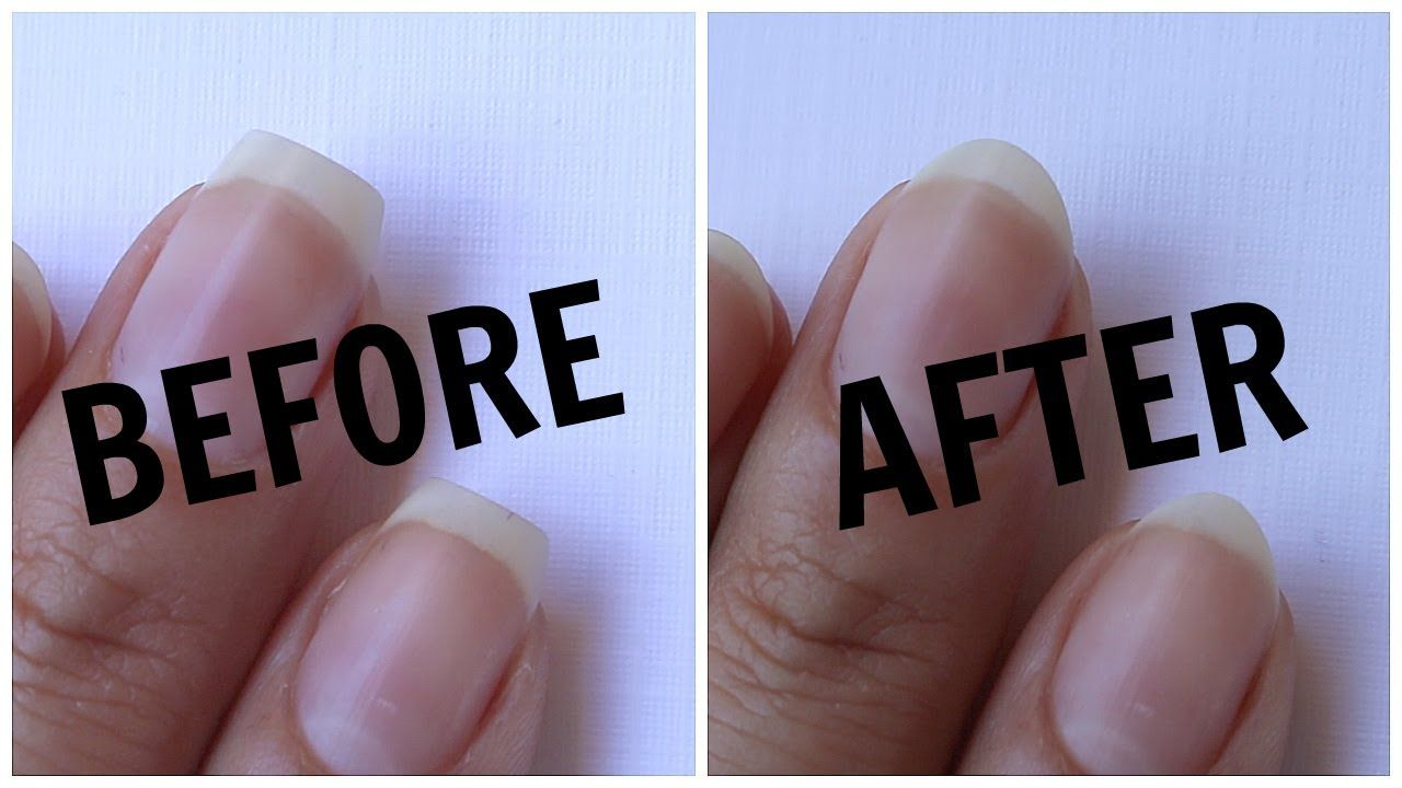 HOW TO Go From Square to Round Nails Banicured
