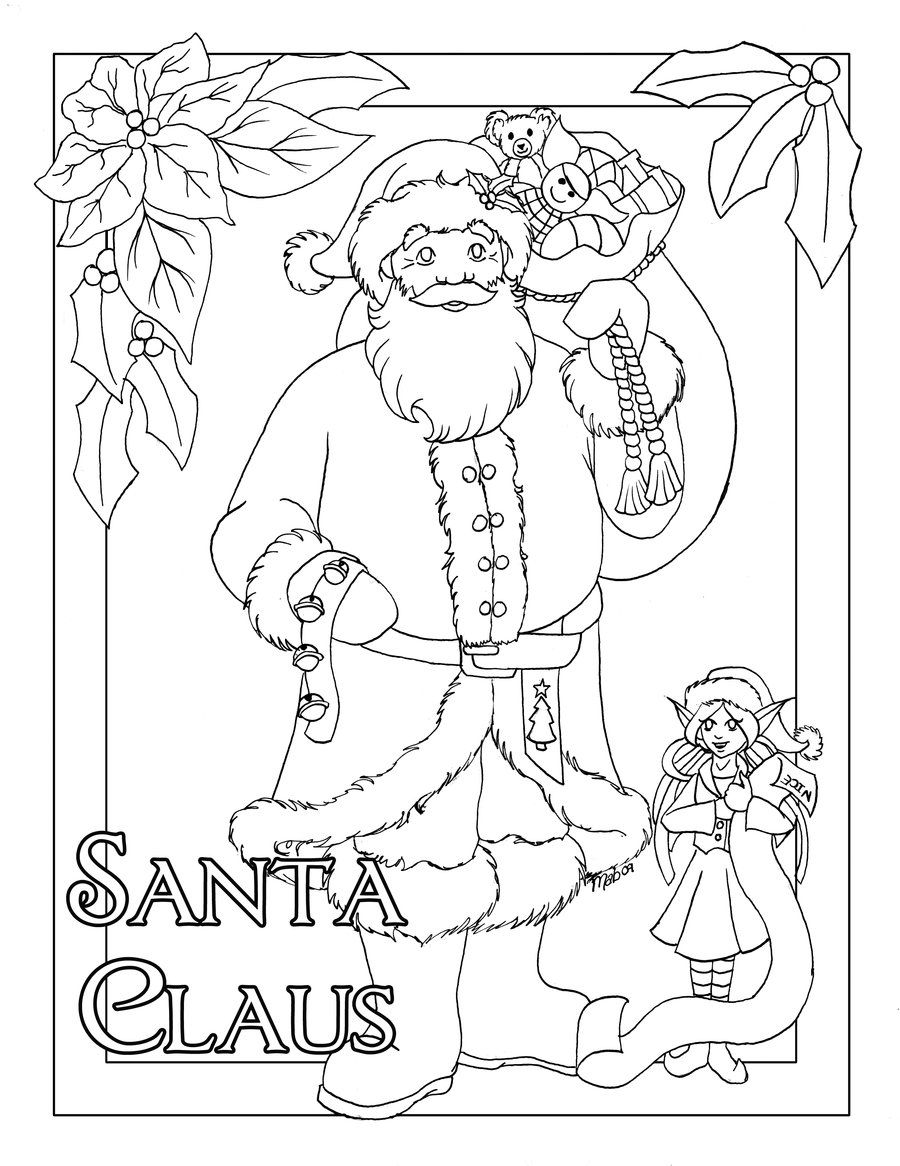 pin by donna cain on coloring pages | pinterest | christmas, santa