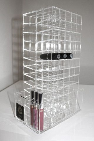 Acrylic Makeup Organizer Target Lux 32 Section Lipstick Holder  Lipstick Holder Makeup And Lips