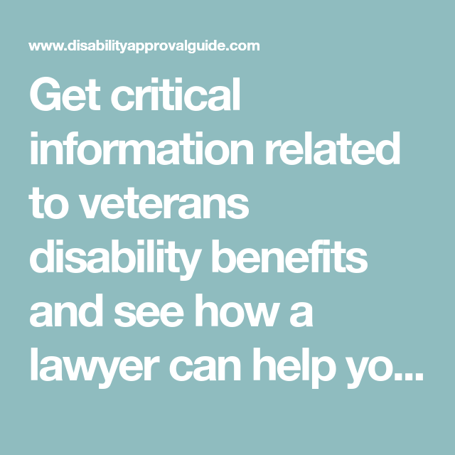 dfa3468882bc6a1a46707b70fec7b0d2 - How Long Does It Take To Get Veterans Disability Benefits