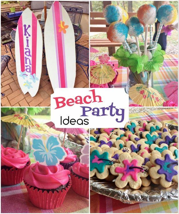 Beach Party Decorations Diy