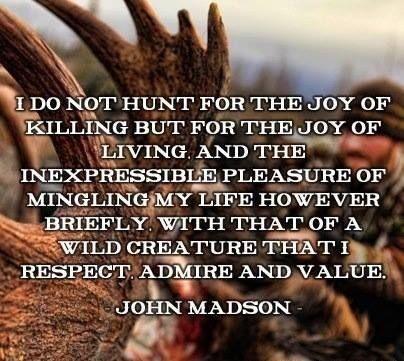 Why I hunt