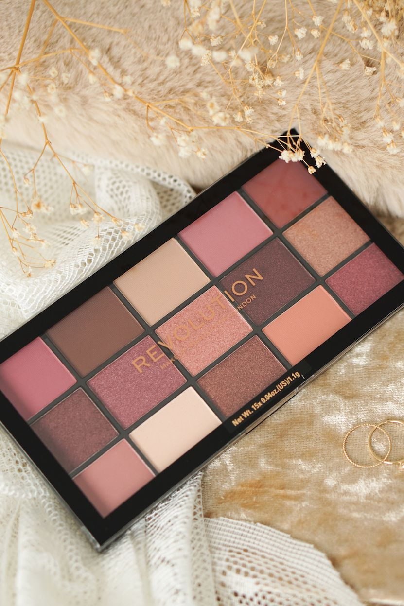 Revolution Reloaded Provocative Eyeshadow Palette review – Beautyill blog