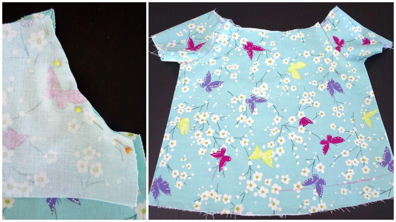 Tuto de la blouse baby girl blouse couture vetement - Taux d humidite dans une chambre de bebe ...
