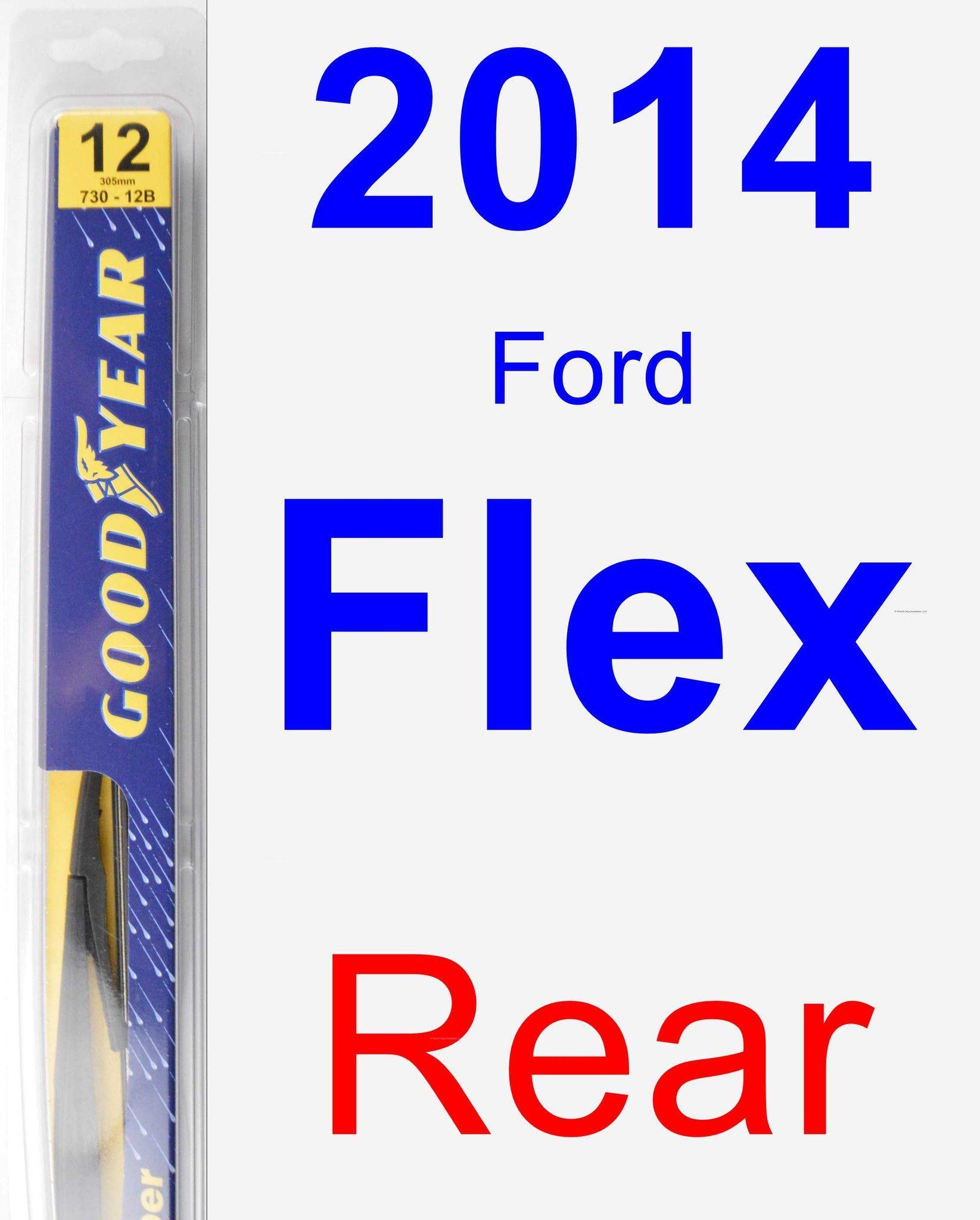 Rear Wiper Blade For 2014 Ford Flex - Rear