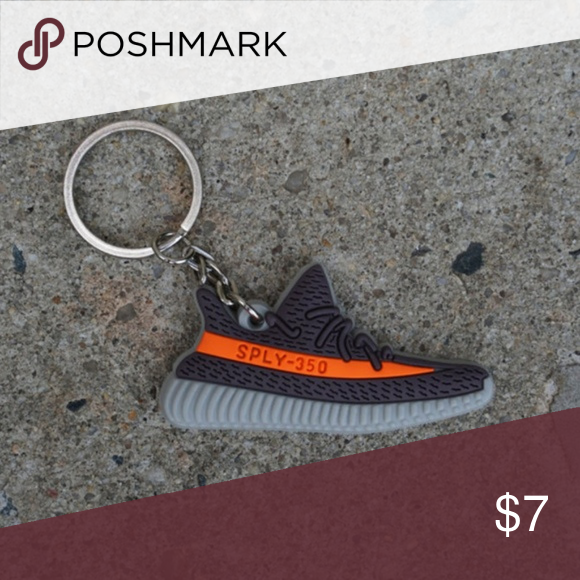 d8022915115 Adidas Yeezy Boost 350 V2 Beluga Shoe Keychain •Item is 2D and one sided