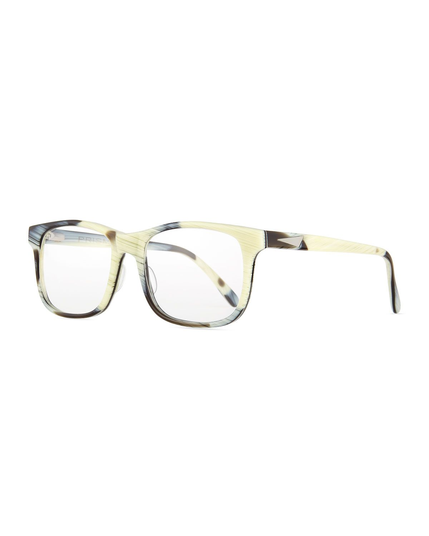 f9bd05887b1 Rome Square Acetate Fashion Glasses