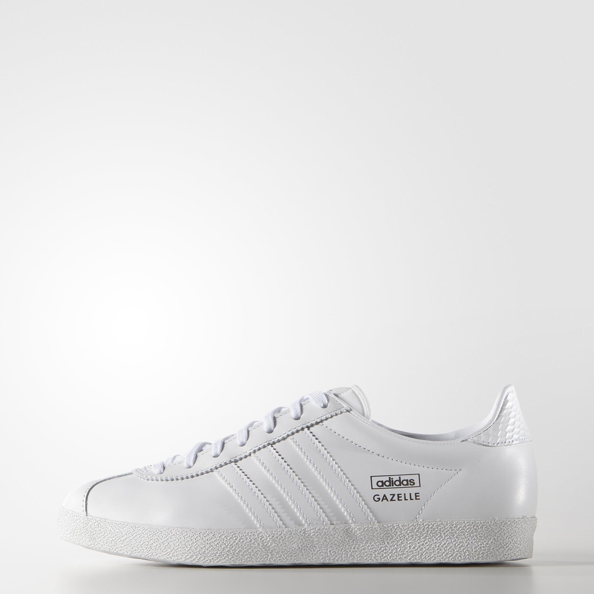 46a94d7821 adidas GAZELLE OG W - White