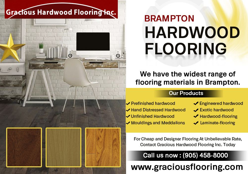 Choose of Brampton Hardwood Flooring is one of the most