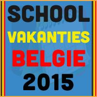 Plan vooruit met deze datums van de Belgische schoolvakanties 2015!