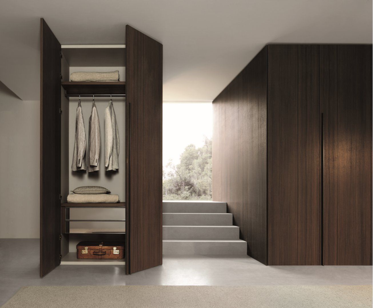 This is a unique wardrobe by Studio IQ Office furniture