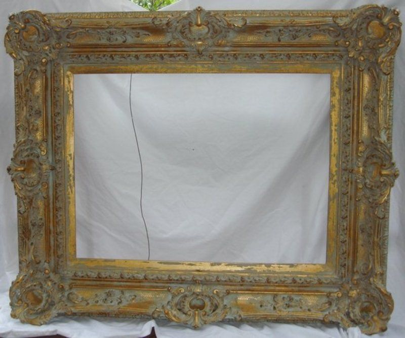 Old Picture Frames Antique French Frame Carved Gilt Wood 19th C Large For Sale Old Picture Frames Old Frames Frames For Sale