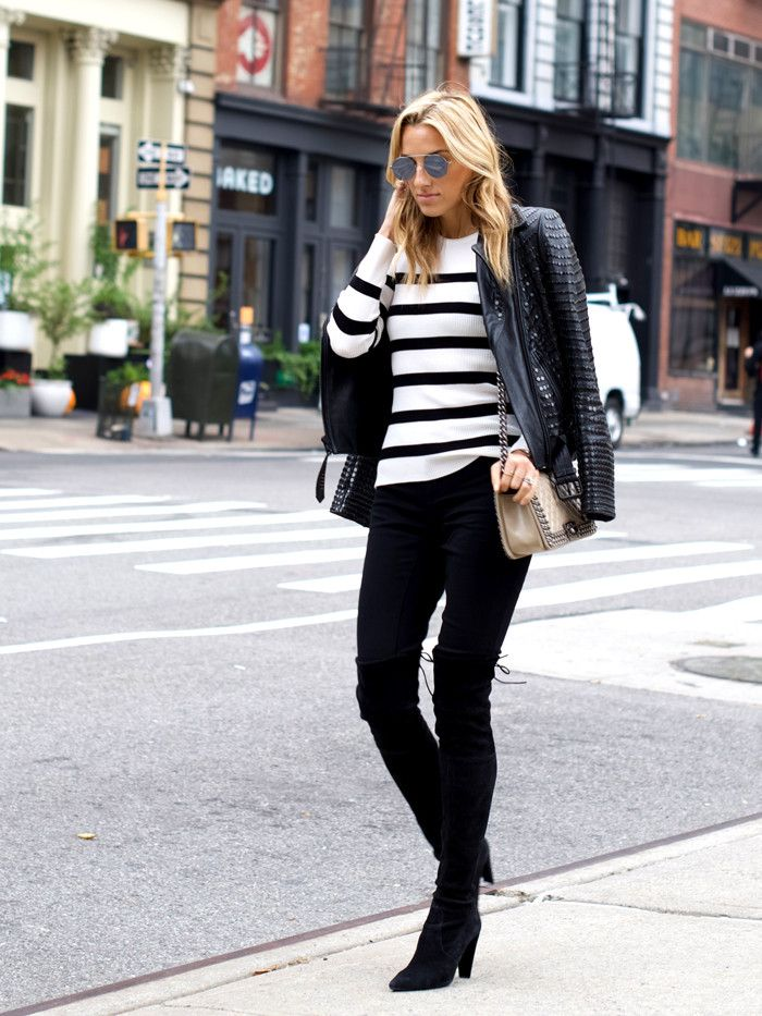 Fashion Girl–Endorsed Off-Duty Looks You'll Love for Fall via @WhoWhatWear