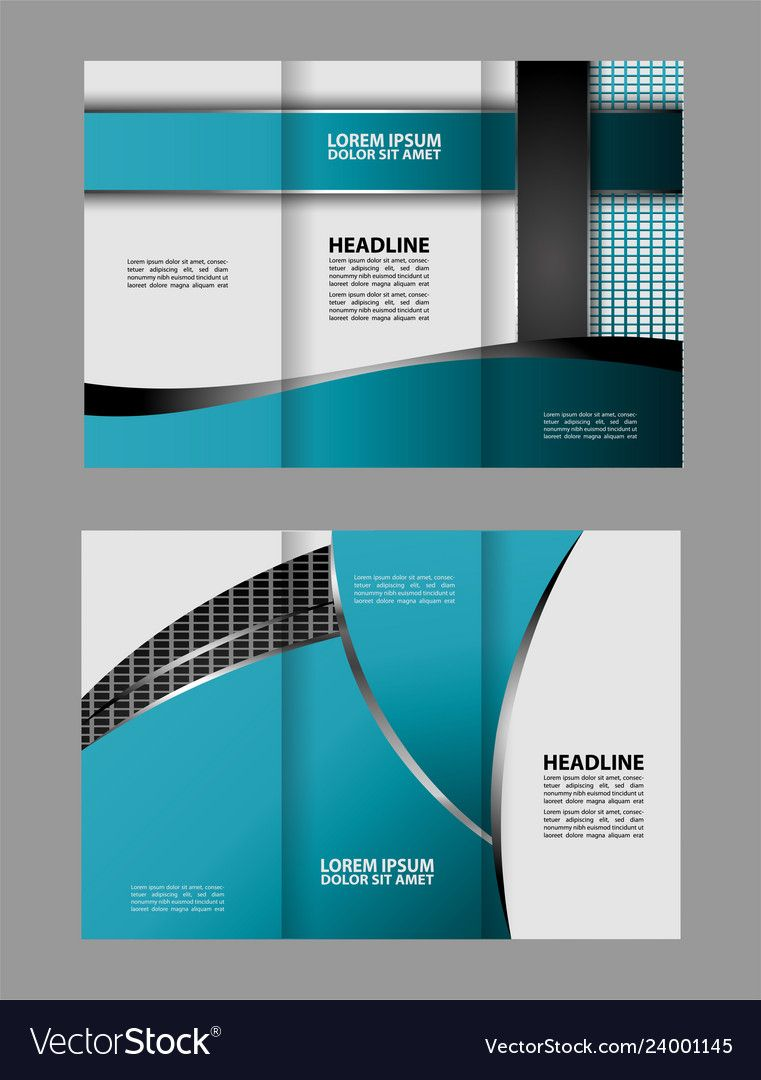 Tri Fold Business Brochure Template Two Sided Tem Inside Double Sided Tri Fold Brochure Template Brochure Template Business Brochure Trifold Brochure Template