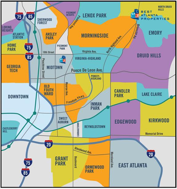 Up And Coming Neighborhoods In Atlanta