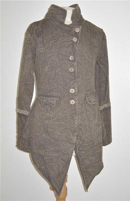 Ewa i Walla Jacket Boiled Wool Dark Lavender 66329 AW19 i