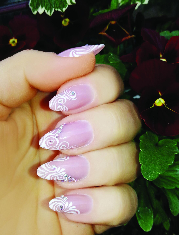 nails #Crystalnails #Nägel #ColorGel #nagelstudio #nailart #Muster ...