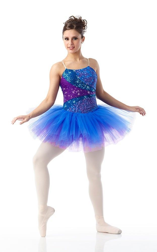 83b620c4db62 WATERCOLOR Sequin Ballet Ballerina Tutu CHRISTMAS Dance Costume Child &  Adults #Cicci