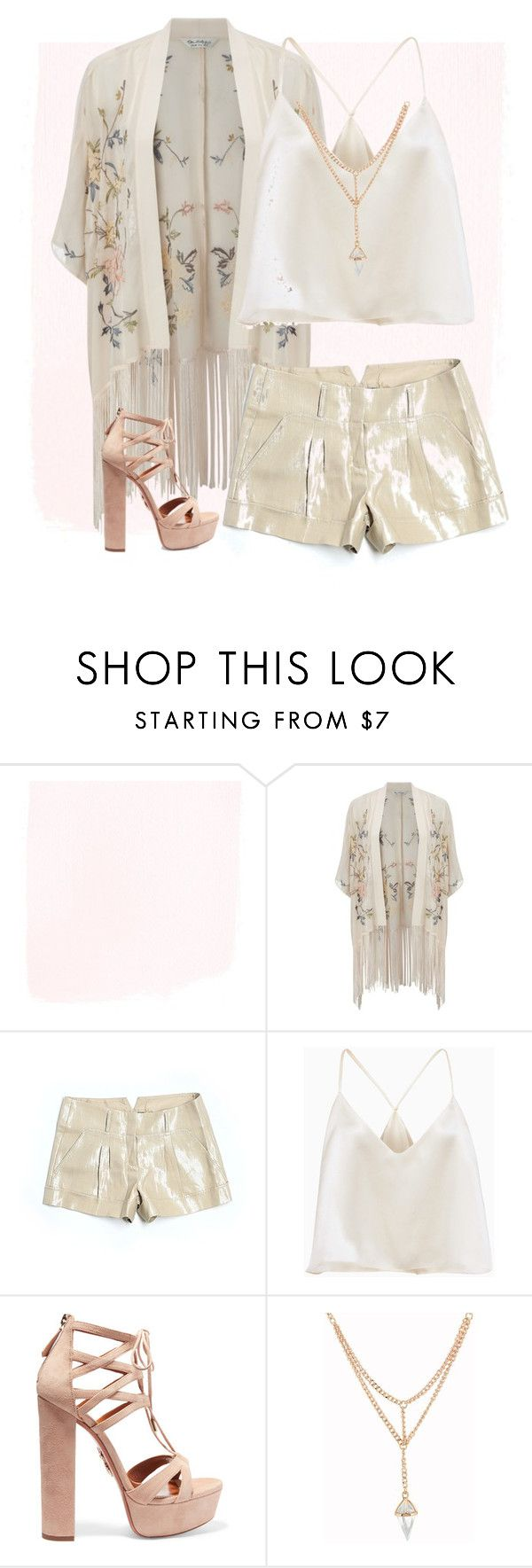 """Summer"" by artistkarstenmouras ❤ liked on Polyvore featuring Miss Selfridge, BCBGMAXAZRIA and Aquazzura"