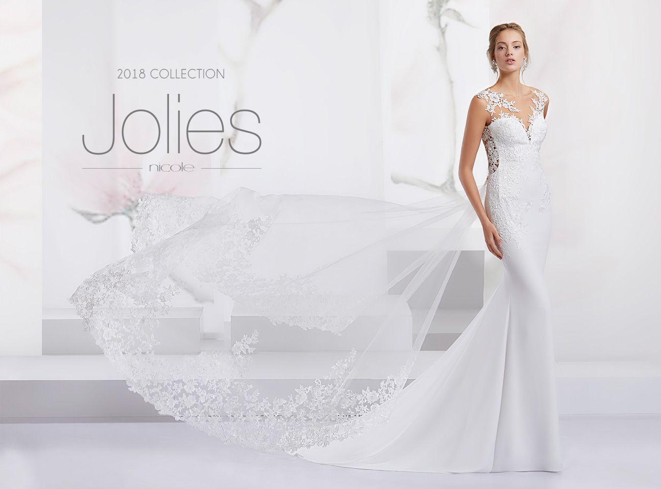 Vestiti Da Sposa Jolies.Abiti Da Sposa Jolies Collezione Abiti Da Sposa 2019 Nicole