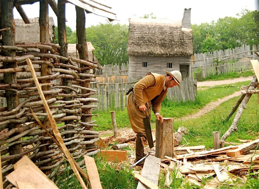 Pin on Plimoth Plantation and Jamestown/Living History