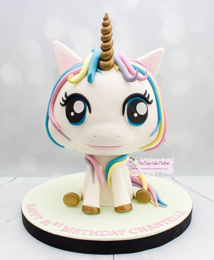 3d unicorn all cake unicorn cake fairy cakes cake